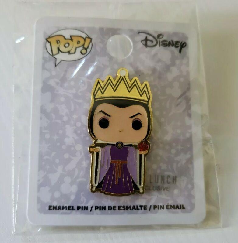 Disney Pop! Villains Snow White Evil Queen Enamel Pin Exclusive