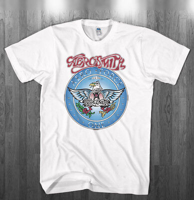 Wayne's World Garth Algar Aerosmith T-shirt Halloween Costume Mens Kids Shirts - Wayne's World Halloween