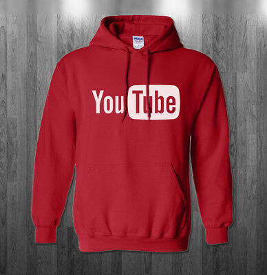 YouTube logo Hoodie You Tube funny Halloween costume Sweatshirts Adult Kids size](Funny Halloween Kid Costumes)