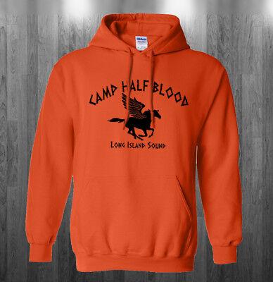 Camp Half Blood logo Hoodie Percy Halloween costume Sweatshirts Adult Kids size](Percy Halloween Costume)