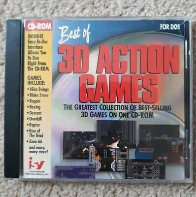 Best of 3D Action Games 1995  - PC CD Computer game Complete FREE (Best Action Computer Games)