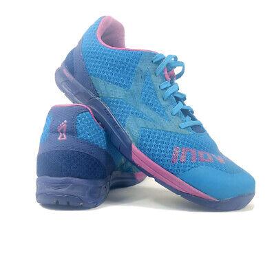 Inov8 F-Lite 250 Fitness Cross Training Shoes Size W: 9.5 M: 8 Blue Pink Purple