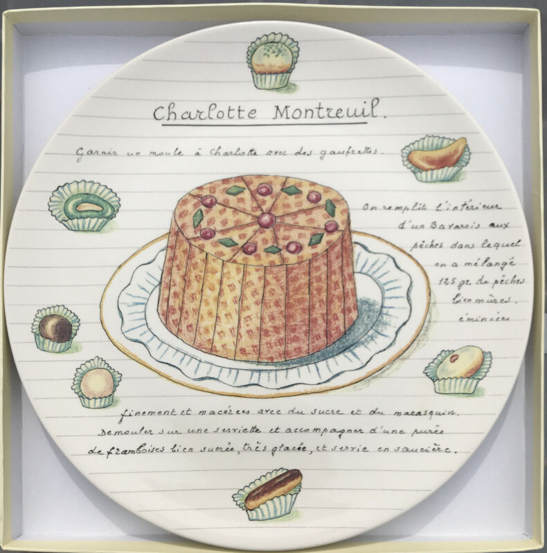 Gien Dessert Gourmands Cake Platter