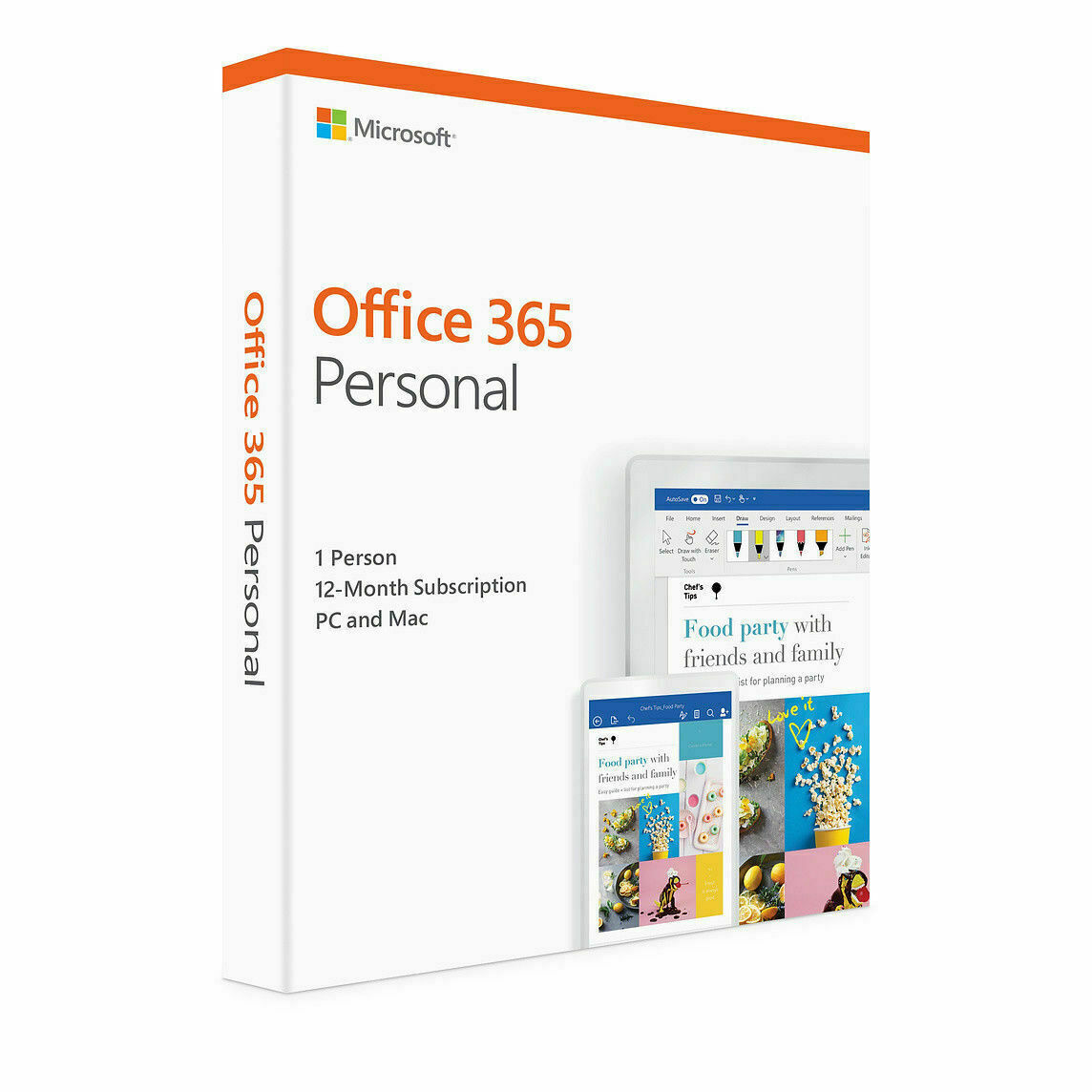 Details about Microsoft Office 365 Personal | 12-month subscription, 1  Person PC/Mac