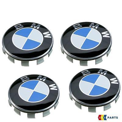 NEW GENUINE BMW F20 F21 F22 F23 E87 E81 E82 E88 ALLOY WHEEL CENTRE CAP SET