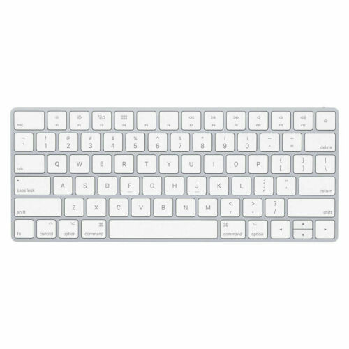 APPLE RECHARGEABLE WIRELESS MAGIC KEYBOARD 2 (A1644) MLA22LL/A W/LIGHTNING CABLE