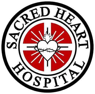 - Sacred Heart Hospital Repositionable Wall Decal Sticker-Scrubs-TV-Gift