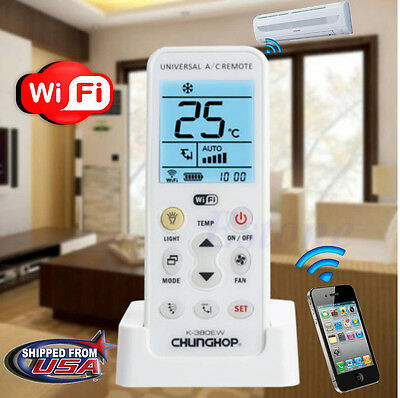 Wifi Smart Universal LCD A/C Muli Remote Control Controller For Air Conditioner