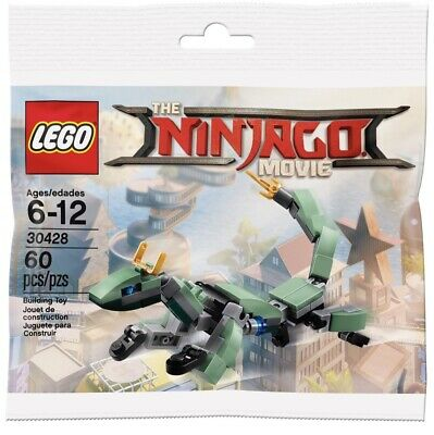 LEGO 30428 The Ninjago Movie Green Ninja Mech Dragon !!!NEW!!!