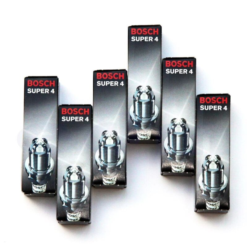 LEXUS IS200 FROM 99 BOSCH SUPER 4 Spark Plugs BRAND NEW