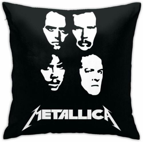 Metallica Pillow Case - double side printed - 100% Polyester 45 x 45 cm