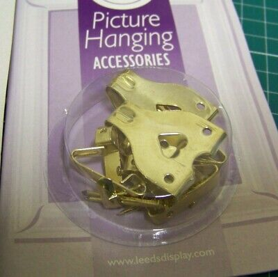 Leeds Display Picture Hanging Accessories 6 small hooks +2 large hooks +10...