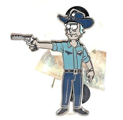 Rick Sanchez Grimes,TWD,Walking Dead,Rick &Morty pin,Mash up, Talking Dead, SALE
