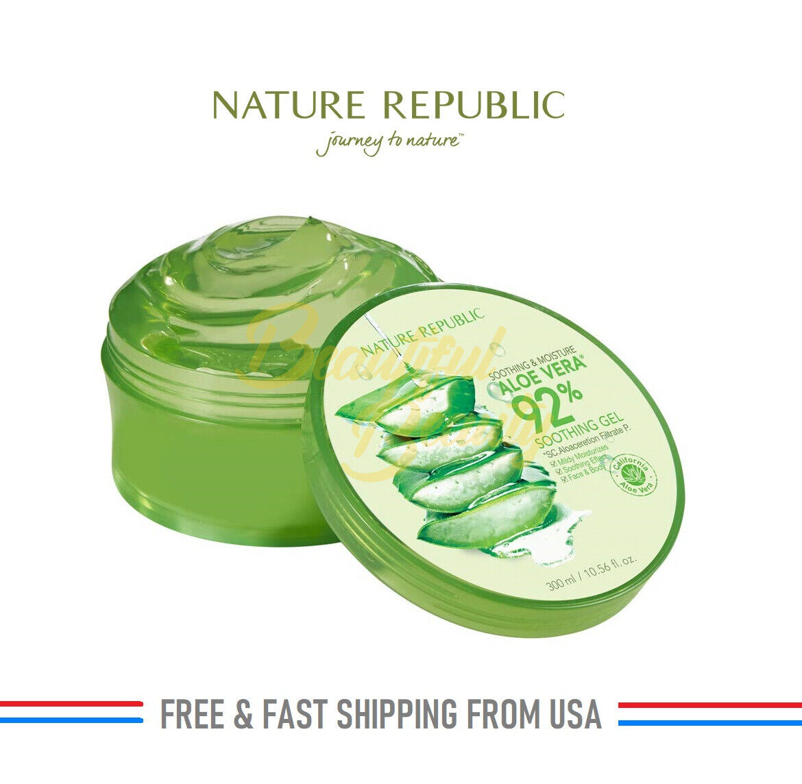 Nature Republic Soothing & Moisture Aloe Vera 92% Soothing