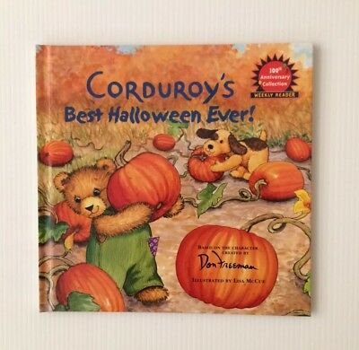 Corduroy's Best Halloween Ever! HC Book ~ Don Freeman 2002 Weekly Reader NEW! - Best Halloween Books