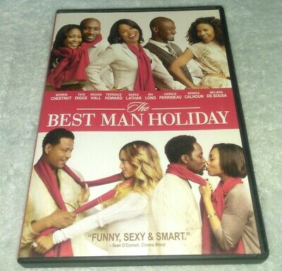 The Best Man Holiday DVD, Morris Chestnut, Taye Diggs, Terrence (Terrence Howard Best Man Holiday)