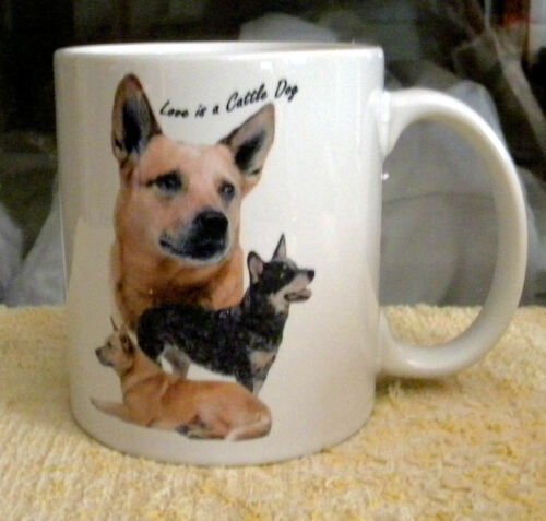 Cattle dogs ( 5 Designs to choose from ) coffee mugs