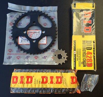 Tuning Kettensatz Honda CBR 125 R, CBR125, JC34/39, 14-42-124, kurze Übersetzung