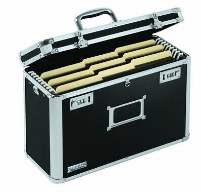 Portable File Tote Legal Size Cabinet Lock Storage Organizer Metal Box Mobile