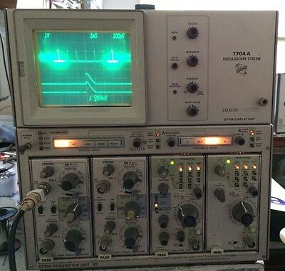 Calibrated Tektronix 7704atwo7a267b92a 200mhz 4ch Dual Time Base Oscilloscope