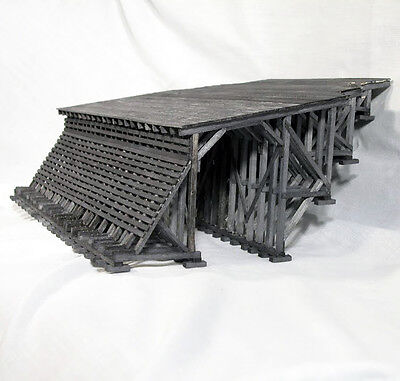 TIMBER MOUNTAIN SNOWSHED S On30 Model Railroad Structure Unptd Wood Kit  HL201S