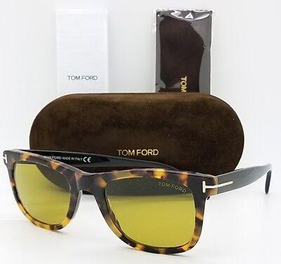 038d01300a14 New Tom Ford Leo sunglasses TF0336 55N 52mm Tortoise Brown Yellow TF 336  Bond