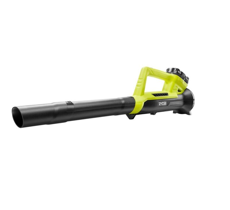 Ryobi p219 one 90 mph 200 cfm 18 volt lithium ion cordless leaf ryobi p219 one 90 mph 200 cfm 18 volt lithium ion cordless leaf blower fandeluxe Image collections