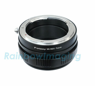 Nikon Lens to Sony a6500 a6000 a5100 a6300 Adapter/ Macro Focusing Helicoid