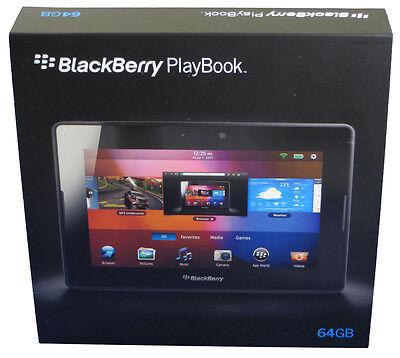 Brand New BlackBerry PlayBook PlayBook 64GB, Wi-Fi, 7in - Black Retail Box
