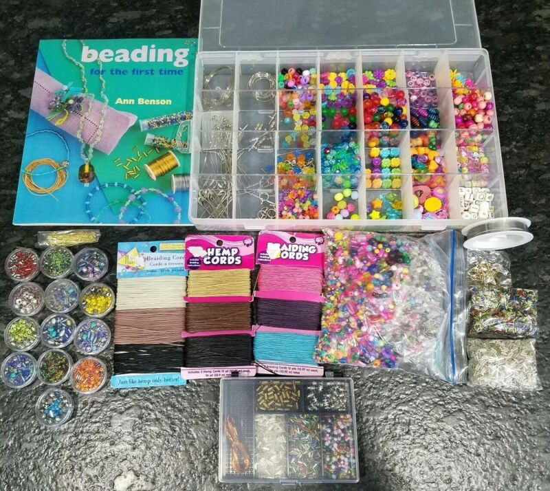 Large lot of beads for jewelry necklace bracelets earrings beading
