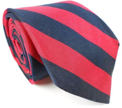 "Lands' End EUC Vintage Gentleman's Striped Pattern Silk Tie Mens 59"" L 3 1/2"" W"