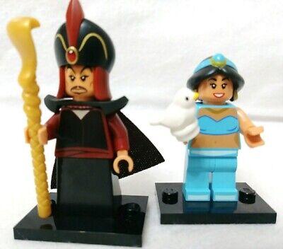 Disney Lego Series 2 Minifigure Jasmine and Jafar New Open Package