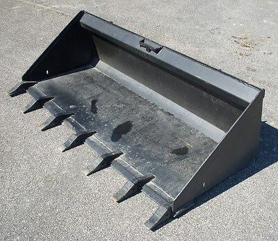 Bobcat Case Cat Skid Steer Attachment 74 Low Profile Tooth Bucket - Ship 199