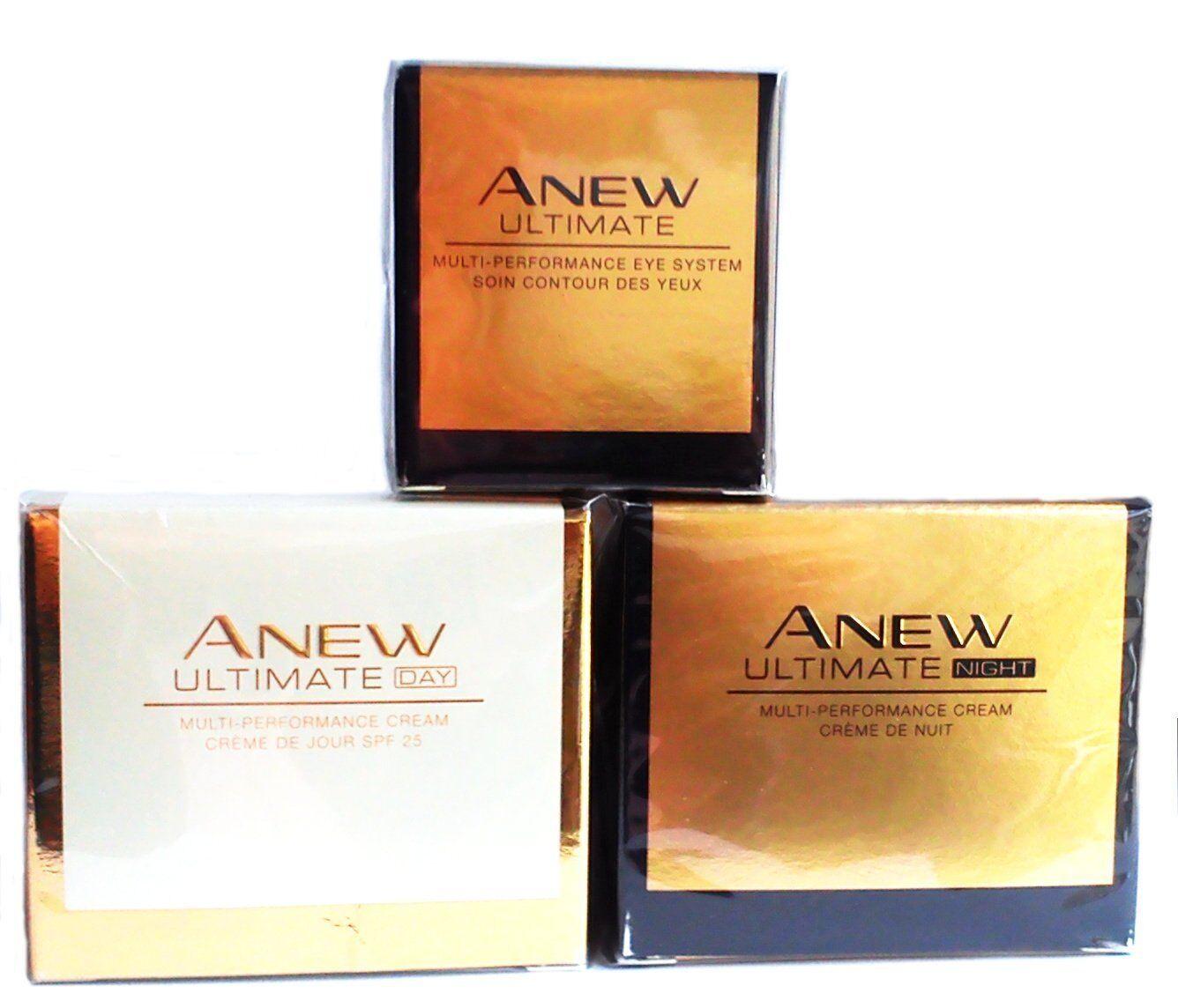 AVON Anew Ultimate Multi-Performance: Day Cream + Night Crea