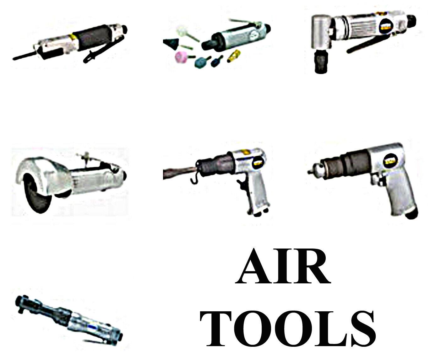 AIR Power Tools, Grinders Hammers Drills Cutoffs Saws Harbor