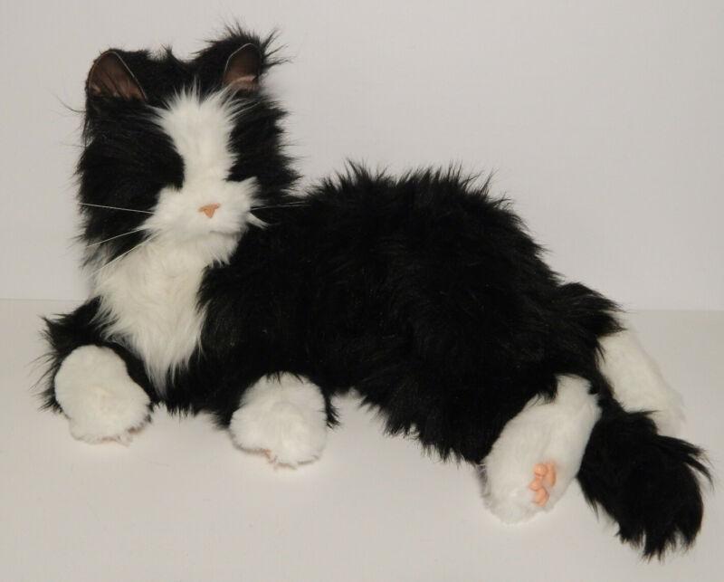 Hasbro Joy For All Tuxedo Cat  Interactive Realistic Lifelike 18""