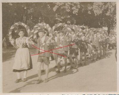 Nr.12324 Foto Wels Volksfest 1948 Siebenbürger Sachsen Tracht   O.Ö.