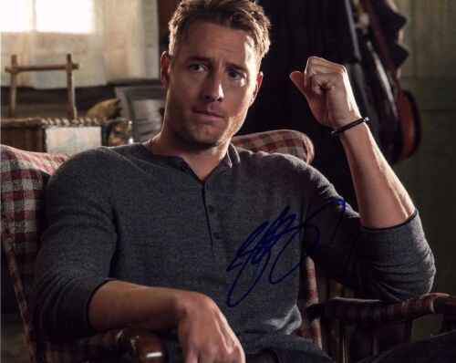 JUSTIN HARTLEY SIGNED THIS IS US 8X10 PHOTO! HUNK! HOT AUTOGRAPH 2