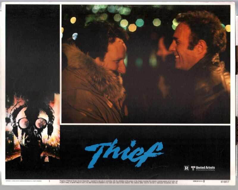 Thief-Lobby Card-#1-1987-James Caan-Tuesday Weld-Willie Nelson