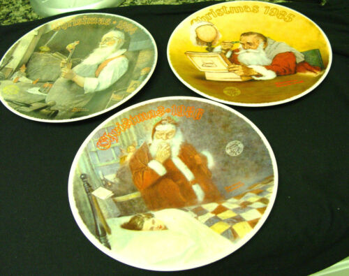 Norman Rockwell Christmas 1884/85/86 all Three