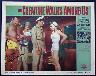 THE CREATURE WALKS AMONG US LEIGH SNOWDEN HORROR 1956 LOBBY CARD #3