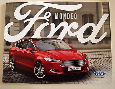 Ford . Mondeo . Ford Mondeo . November 2016 Sales Brochure