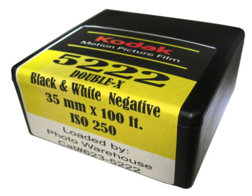Kodak EASTMAN 5222 DOUBLE-X Film Black & White 35 mm x 100