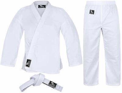 Karate Uniform for Kids and Adults Karate Gi Martial Arts Free Belt Hawk -