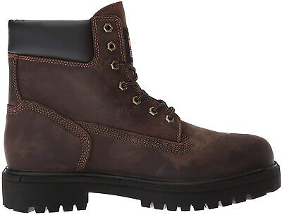 Timberland PRO Men's Direct Attach 6 Inch Soft Toe Waterproof, Brown, Size 10.5