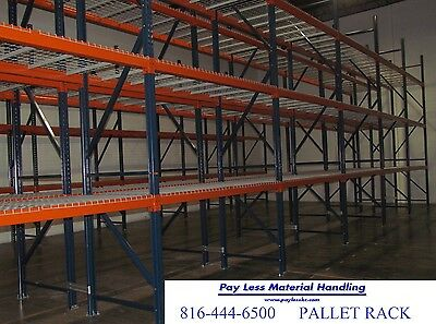 Pallet Rack Teardrop Racks Frames Industrial Vertical 42 X 192 Only 125ea