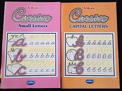 Lower Case Cursive (Cursive Alphabet hand writing upper lower case Copy writing Activity Book)