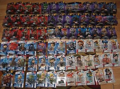Disney Infinity 1 0 2 0 3 0 Figures Star Wars Character Originals Marvel Select