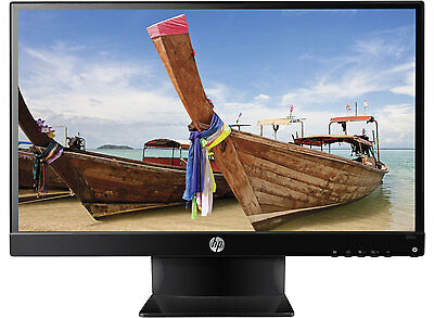 HP Pavilion 25vx 25 IPS LED Backlit Monitor 1920x1080 Full HD VGA DVI HDMI 7ms