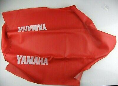 NEW <em>YAMAHA</em> DT125 SEAT COVER RED MOTORCYCLE SADDLE DT 125 DTR DT125R 19